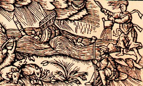 Schiarazula marazula, tempestari e rogazioni