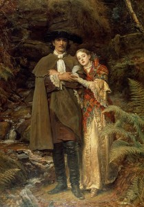 the-bride-of-lammermoor-sir-john-everett-millais