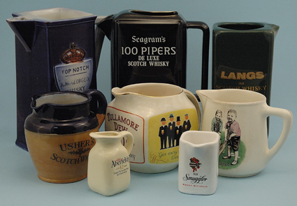 whisky-jugs